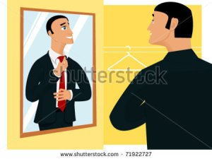 stock-vector-smiling-businessman-preparing-for-new-working-day-in-front-of-mirror-71922727